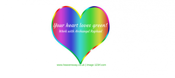 Green: the colour for love and abundance